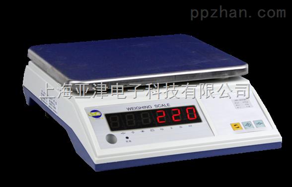 计重电子桌秤亚津电子秤15kg电子计重秤