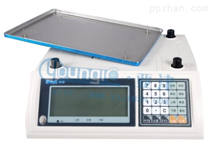 上海电子秤电子计重秤使用45kg大量程桌秤