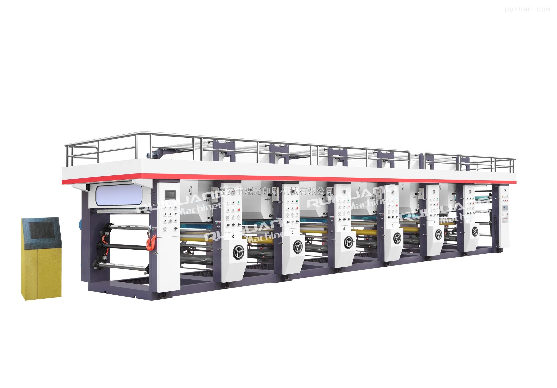 RGASY-800C型6色-塑料薄膜凹版印刷机