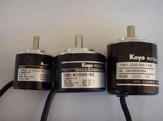 谁教岁岁红莲夜,两处沉吟各自知。  姜夔《鹧鸪天元夕有所梦》 TRD-G60-RZ Koyo光洋旋转编码器 Koyo 光洋电子工业株式会社 Koyo Value & Technology Rotary Encoders 旋转编码器 TRD-GK Series Incremental Encoders TRD-GK 系列旋转编码器 大型、强力轴荷重、增量型旋转编码器 特点: - 新设计的强化型主轴,实现强力的轴负荷和长寿命 - 使用10mm的不锈钢轴的坚固设计 - 高速响应、宽温度范围(-10