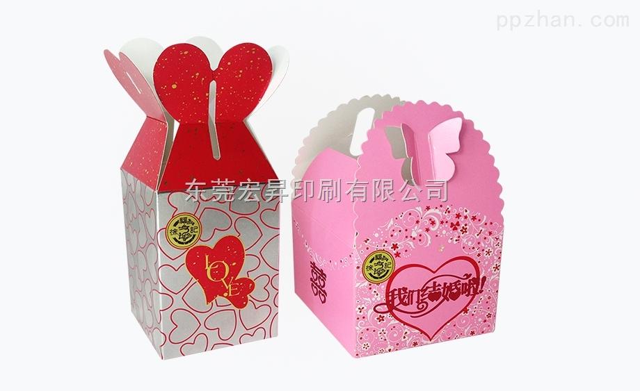 厂家定制各类喜糖包装盒