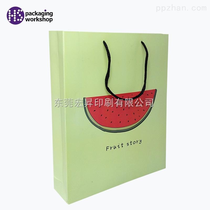 厂家定制精美绿色包装袋手提袋礼品袋!