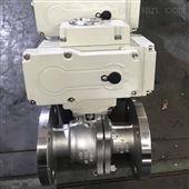 Q941F-16P法兰电动不锈钢球阀标准304调节阀耐腐蚀
