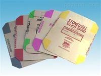 PVC混合物颗粒包装袋 PE阀口袋 三层供挤防滑