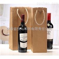 红酒搭配牛皮纸袋定制
