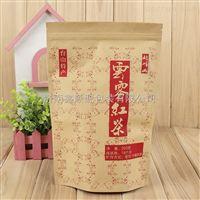 济南鑫顺源生产定制开窗牛皮纸袋 茶叶袋 坚果食品自立包装袋