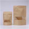 聚嵘包装工厂定制密封休闲食品牛皮纸袋